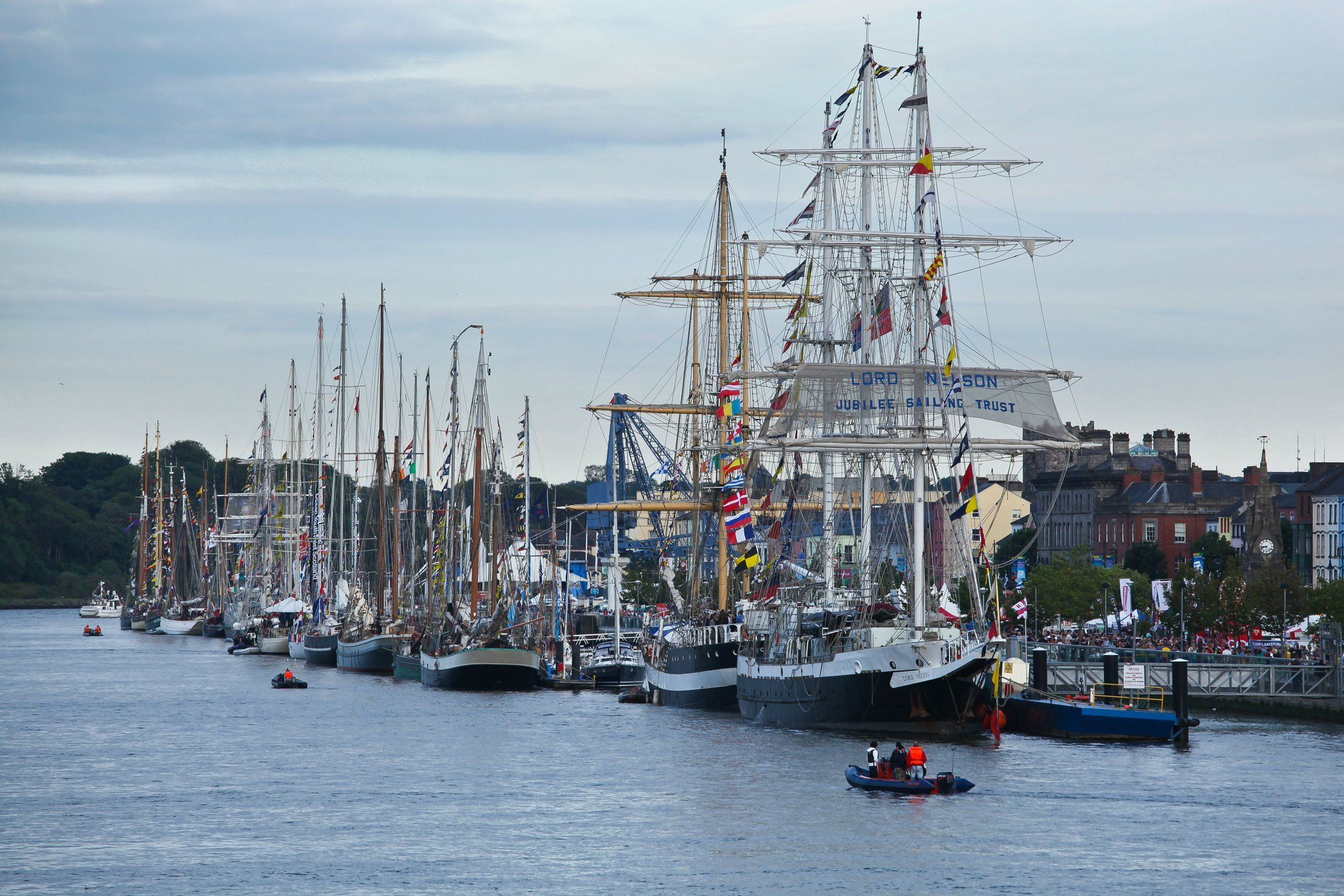 Waterford Image Tall Ships