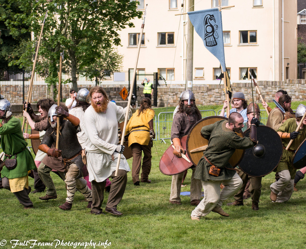 Waterford Image The Viking Battle