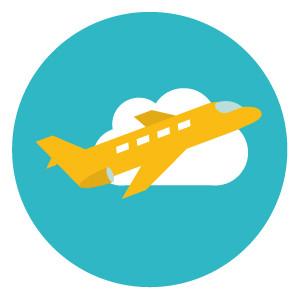Plane Dublin Airport